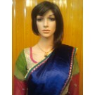 Blue and Purple Half Saree