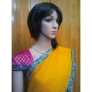 Yellow And Pink Saree