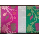 Green Two Boarders Chanderi Saree