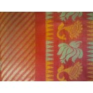 Orange Assam Silk Saree